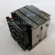 SNK-P0048AP4 пассивный радиатор(snkp0048ap4) 2U для Intel Socket LGA 2011 узкий активный кулер ЦП с радиатором X10DAI X10DAL-I вентилятор