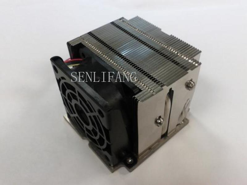 SNK-P0048AP4 Passive Heat Sink (snkp0048ap4) 2U For Intel Socket LGA 2011 Narrow Active Heatsink CPU Cooler X10DAI X10DAL-I Fan