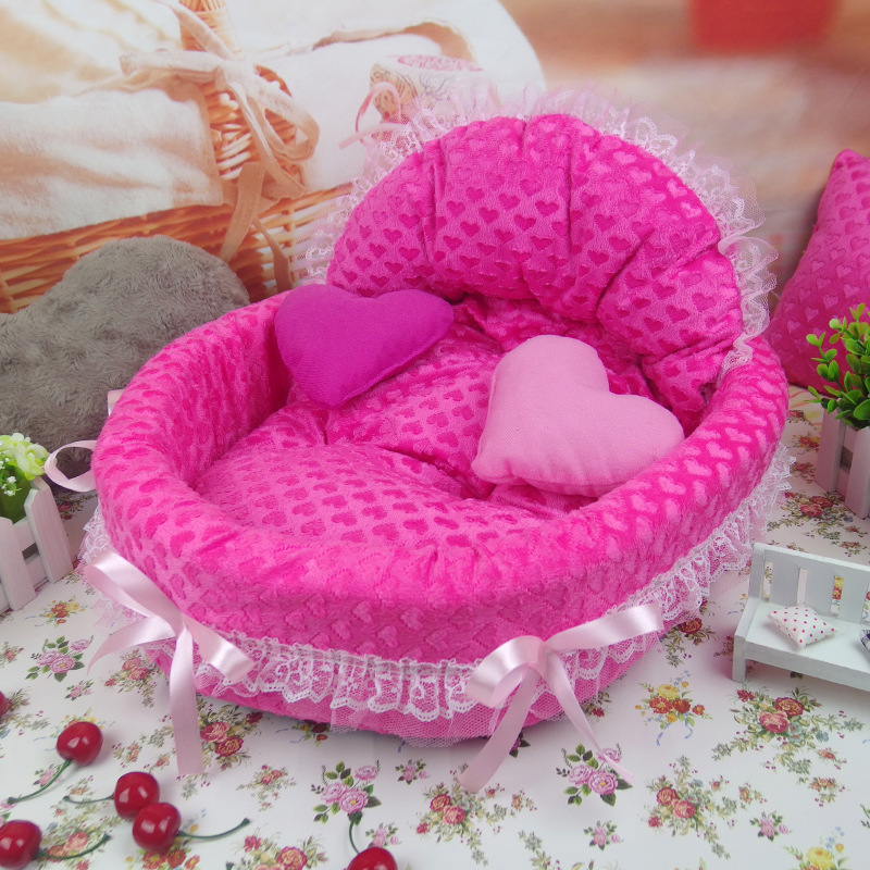 New luxury Dog House Kennel Nest Mat Pet Dog Bag House Cat Bed For - Pet Products - Photo 2