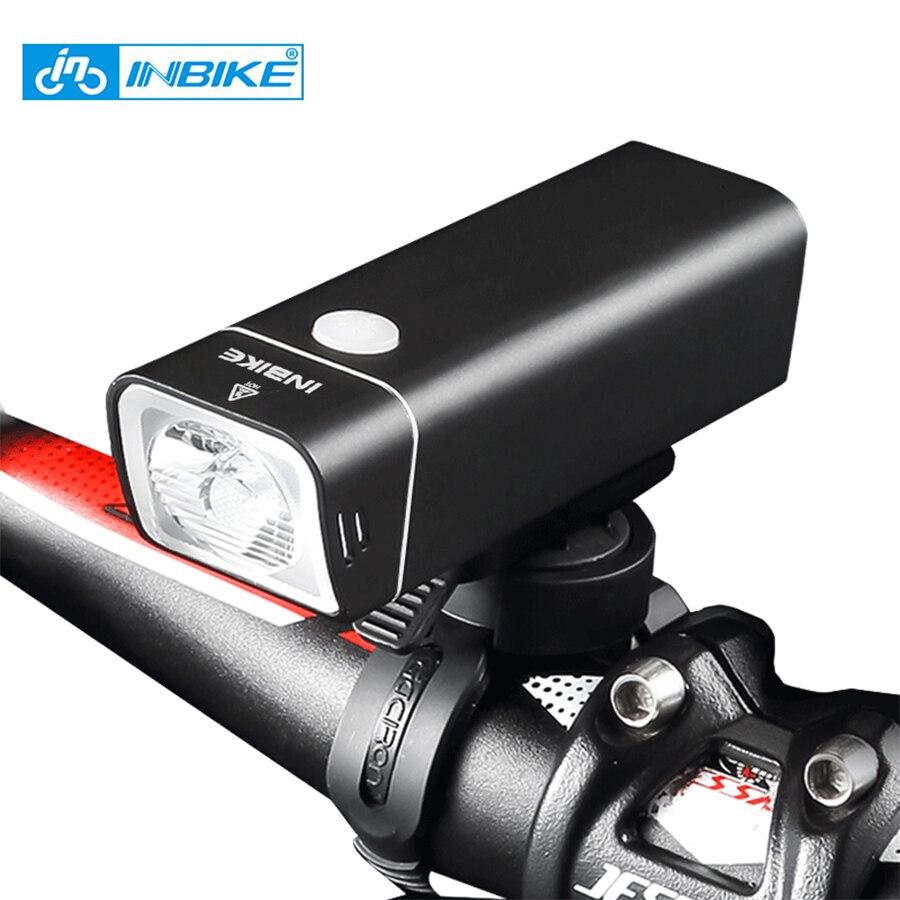 Inbike Tahan Air Bersepeda Lampu Sepeda Usb Rechargeable Senter Led Su Geirmez Bisiklet K Arj Edilebilir El Feneri N