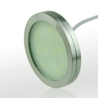1pc Dimmable 12V DC 2 5W LED Under Cabinet Lighting Puck Light For Kitchen Counter LED