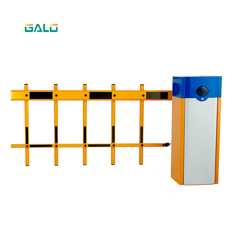 Automatic Barrier High Quality Machinery With 2 Fence Boom Road Barrier