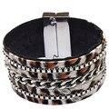 12pcs Punk style leather bracelet female vintage bracelets boho turkish bohemian charm gypsy bracelets for women 2016 pulseras