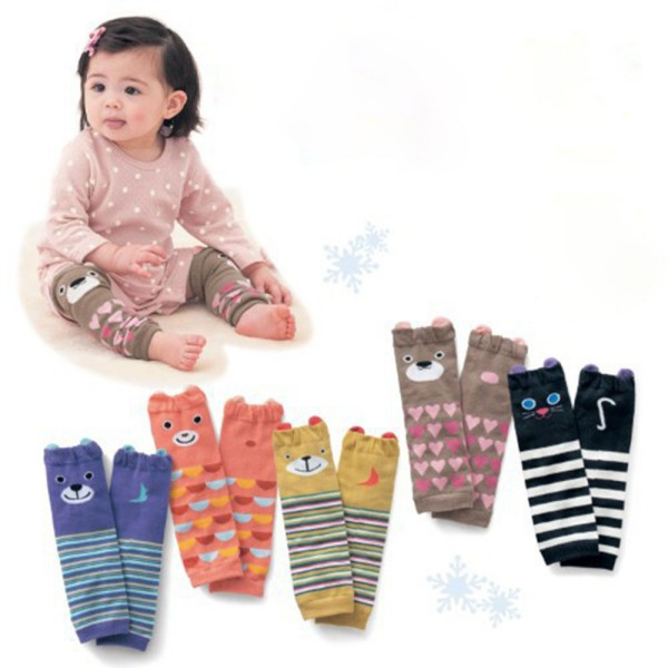 2017 New Leg Warmers Legging Arm Warm Striped For Infant Baby Toddler Girl Boy
