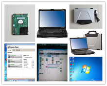 for bmw icom laptop with 500gb hdd ista software expert mode toughbook cf-52 with battery diagnostic isis