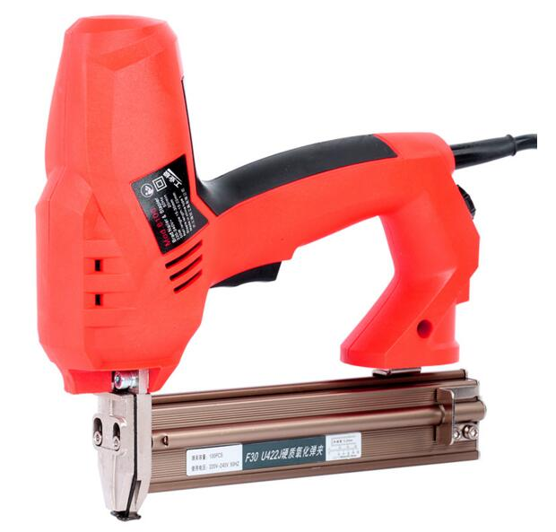 Здесь можно купить  Woodworking tools electric nail gun, dual nailer, electric  straight nail gun can be loaded straight nail and U nail  Инструменты
