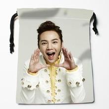 Custom Jang Keun Suk Drawstring Bags Custom Printed gift bags More Size 27x35cm Compression Type Bags