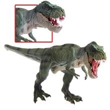 Big Model Building Kits Jurassic World Park Tyrannosaurus Rex Dinosaur toy for girls/boys Compatibility Legoings new world park tyrannosaurus rex dinosaur plastic toy model kids gifts