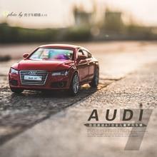 1:32 Audi A7 трехдверный звук и свет обратно питания моделирования все-сплава модели автомобиля детская игрушка автомобиль