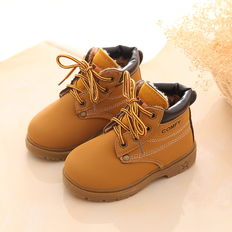 Mother & Kids ... Baby Shoes ... 32512053186 ... 3 ... New Fashion Winter Baby Boots Boys And Girls Calzado Botas Ninas 2015 Infant Girl Winter Leather Boots Baby Warm Snow Boots ...