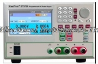 ET3721 high precision programmable Dual Channel linear adjustable DC regulated power supply 155W30V3A