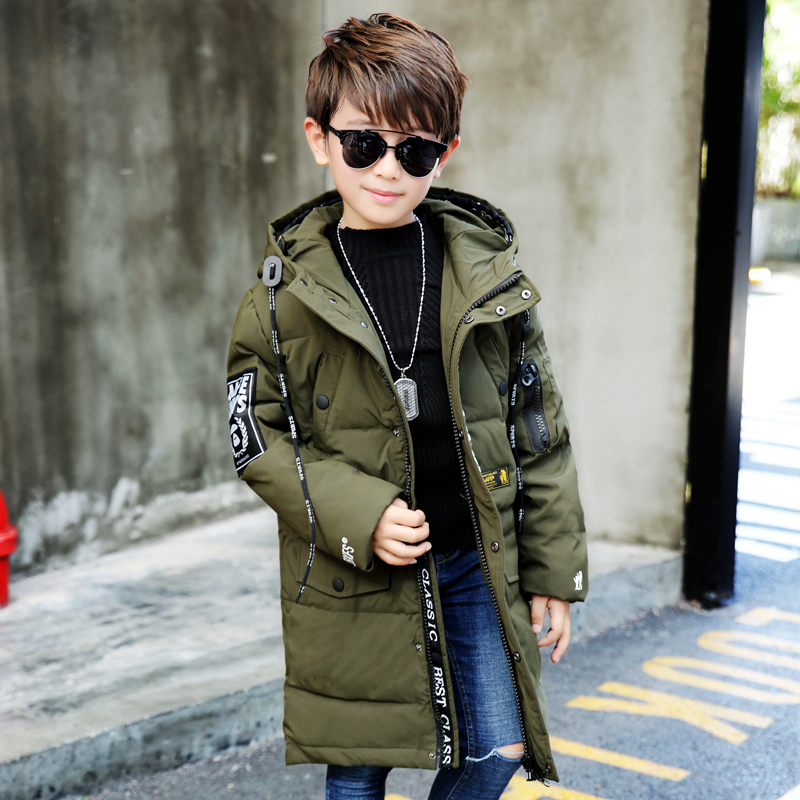 New Boys Parka Children Jackets Warm Boys Clothes Kids Baby Thick Cotton Down Jacket Cold Winter Coat Outwear children winter coats jacket baby boys warm outerwear thickening outdoors kids snow proof coat parkas cotton padded clothes