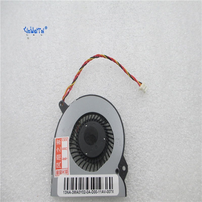 Free Shipping CPU and GPU fan FOR Asus Eee Pad EP121 B121 KDB05105HB AH1G 5V KDB05105HB-AH1G KDB05105HB AH1F image