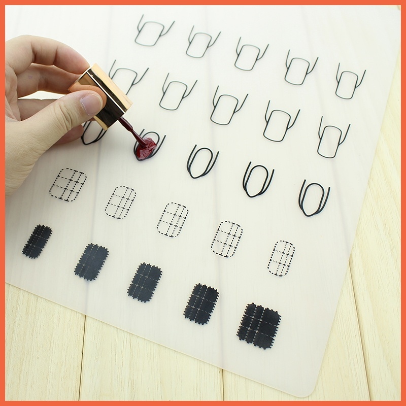 ̀ •́ Best Deal New Professional Silicone Stamping Nail Art Plate ...