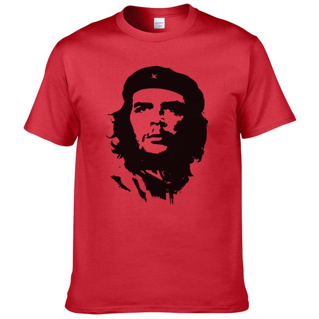 2016 Summer Fashion Che Guevara T Shirt Men Cotton Cool High Quality Printed Tops Short Sleeves Tees #047