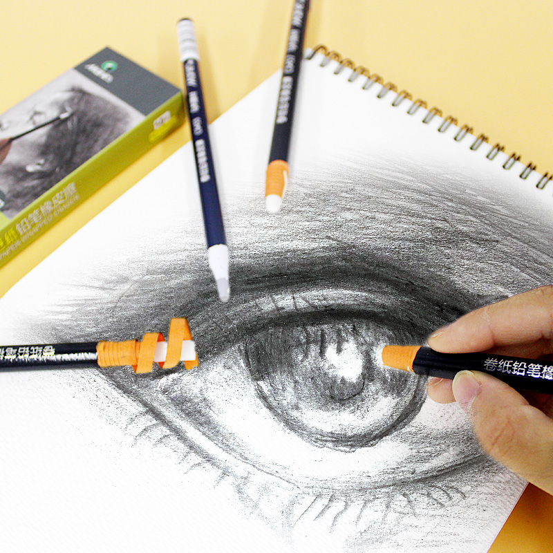 Bleistift Pull linie Papier Gummi Stift Stil Elastone Radiergummi Für Skizzieren Zeichnung Überarbeiten Details Highlight Modellierung Kunst Liefert