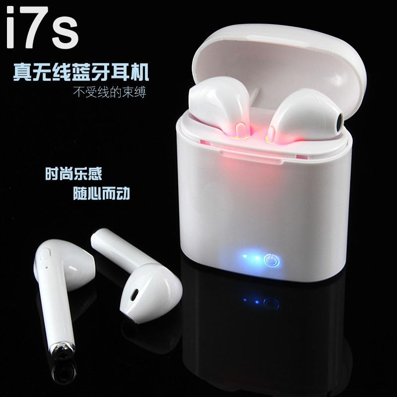 Auriculares i7S TWS Ture inalámbricos Bluetooth Mini i8s i9s con micrófono Auriculares Bluetooth Bud fone de ouvido