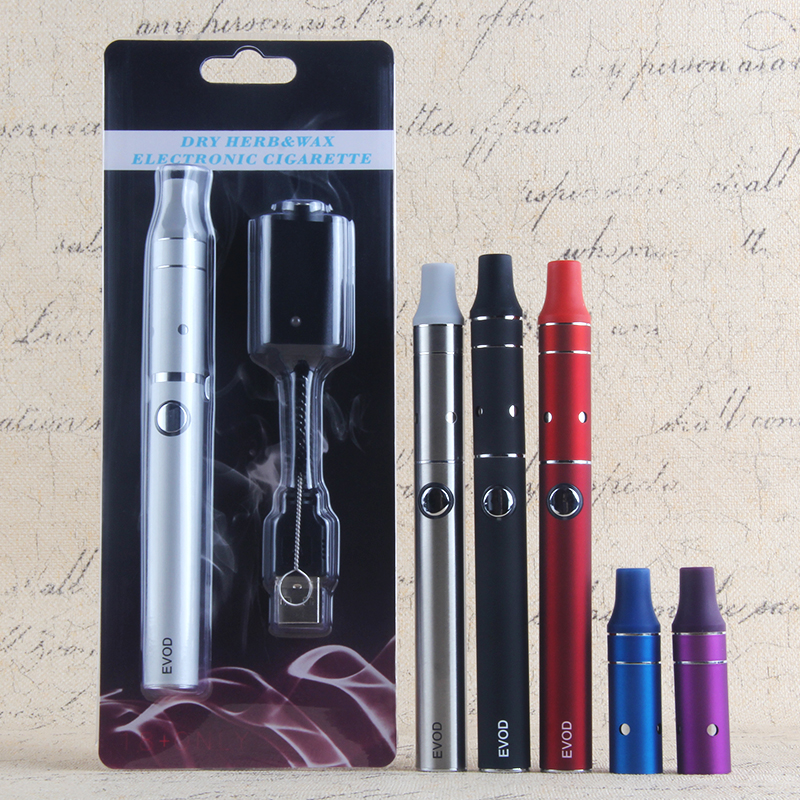 Dry Herb Vaporizer Ecig Vape Kits Mini Ago E Cigs Herbal Vape E Cig EVod Ago Mini Blister Pack Colorful Ecig Vaping Evod Kit