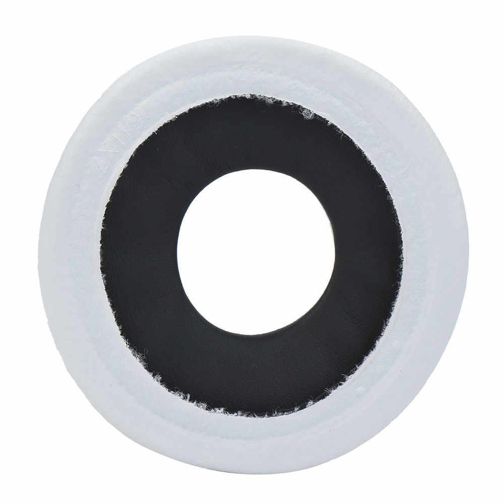 Almohadillas para el oído de cuero Superior 1 par de almohadillas de repuesto para los auriculares Sony MDR-V150 V250 V300 V100 Y1025