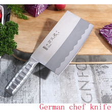 Jiding dual knife compound steel kitchen knives cut cutter chop bone Chopping Slice fish Fruit peeling MeatGiftChoppers