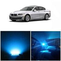 WLJH 17x Canbus Error Free LED Light Bulb Car LED Lights Package Kit Interior lighting kit for BMW E60 5 Series sedans 2004 2010