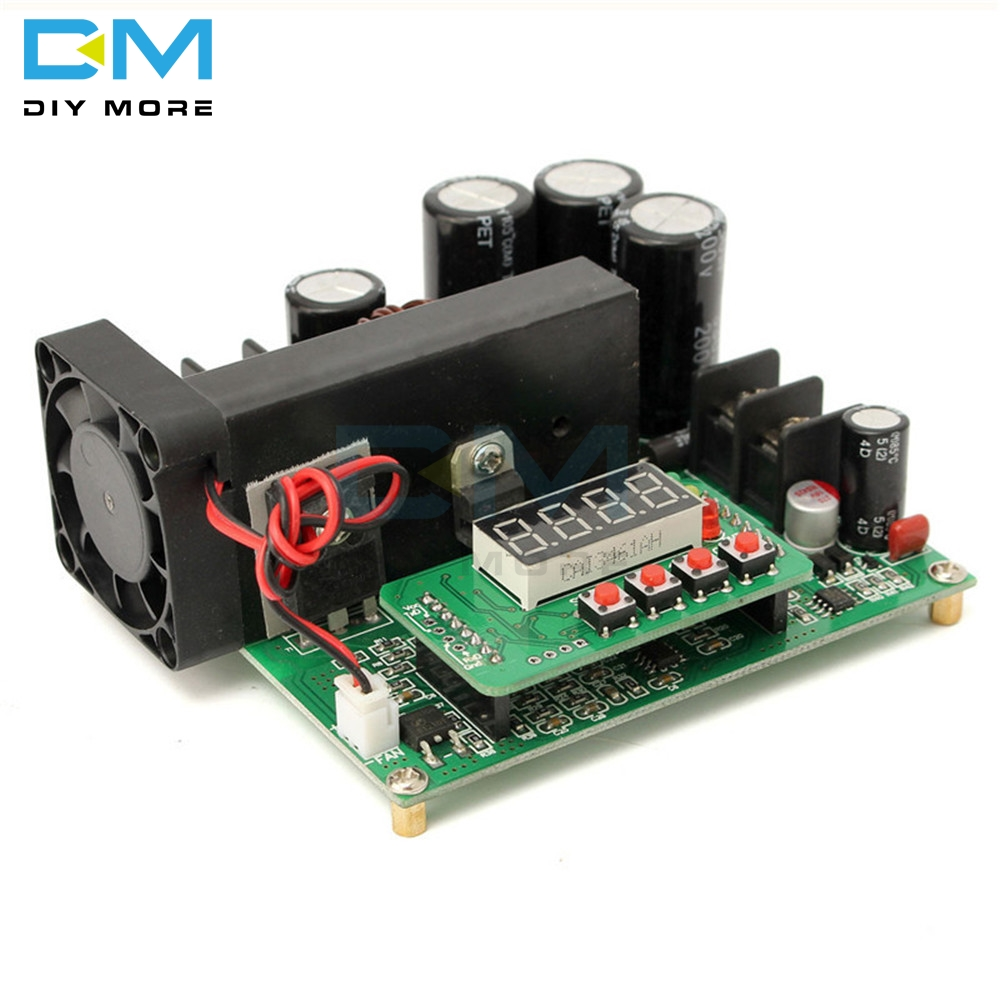 DC-DC BST900 900W 0-15A 8-60V To 10-120V Boost Converter Board Power Supply Module CC/CV LED Driver Step Up Modules