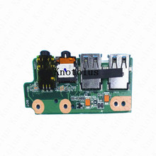 USB AUDIO JACK BOARD FOR ASUS N55S N55SF IO BOARD mmio 01c motherboard series inverter acs350 cpu board panel io board terminal board