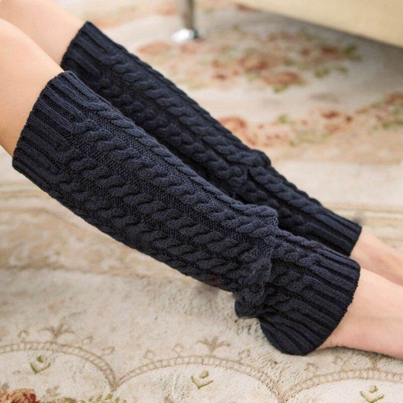 Geometric Winter Leg Warmers With Ball Women Knitting Boot Socks Winter Boot Cuffs Twist Floor Socks Underwear & Sleepwears Women's Socks & Hosiery
