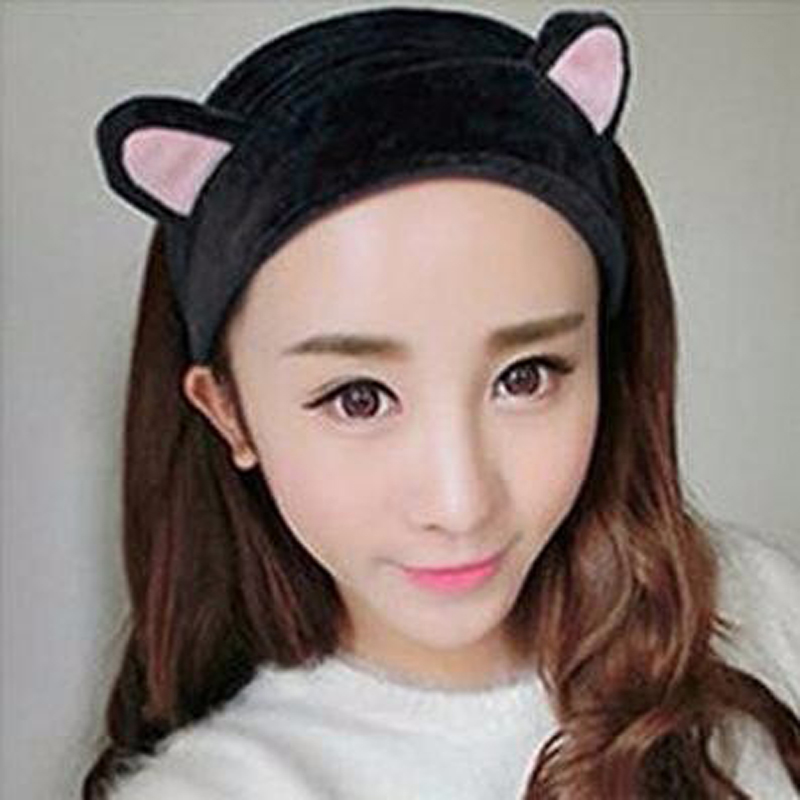 Professional Sale Mism Cute Flower Lace Bunny Hairband Women Korean Headband Sexy Ears Hairband Girls Female Party Prom Hairpins Hair Accessories Apparel Accessories