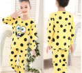 2015 fashion Boys Sleepwear Girls Pyjama Baby Clothes Children Clothing Set Kids Pijamas Sets Girls Snow Queen Pajamas set