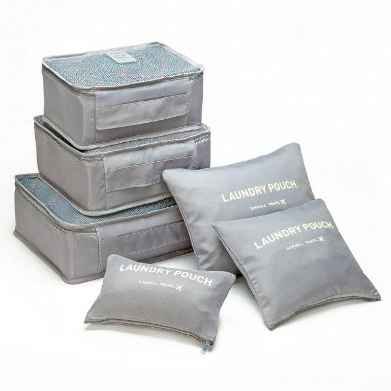 HHYUKIMI Märke 6PCS Sommarstil Förvaring Resväska Set För Skåp - Väskor för bagage och resor - Foto 1