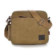 Business multifunctional canvas high quality pad middle size removable crossbody Shoulder book men messenger style pockets Bags