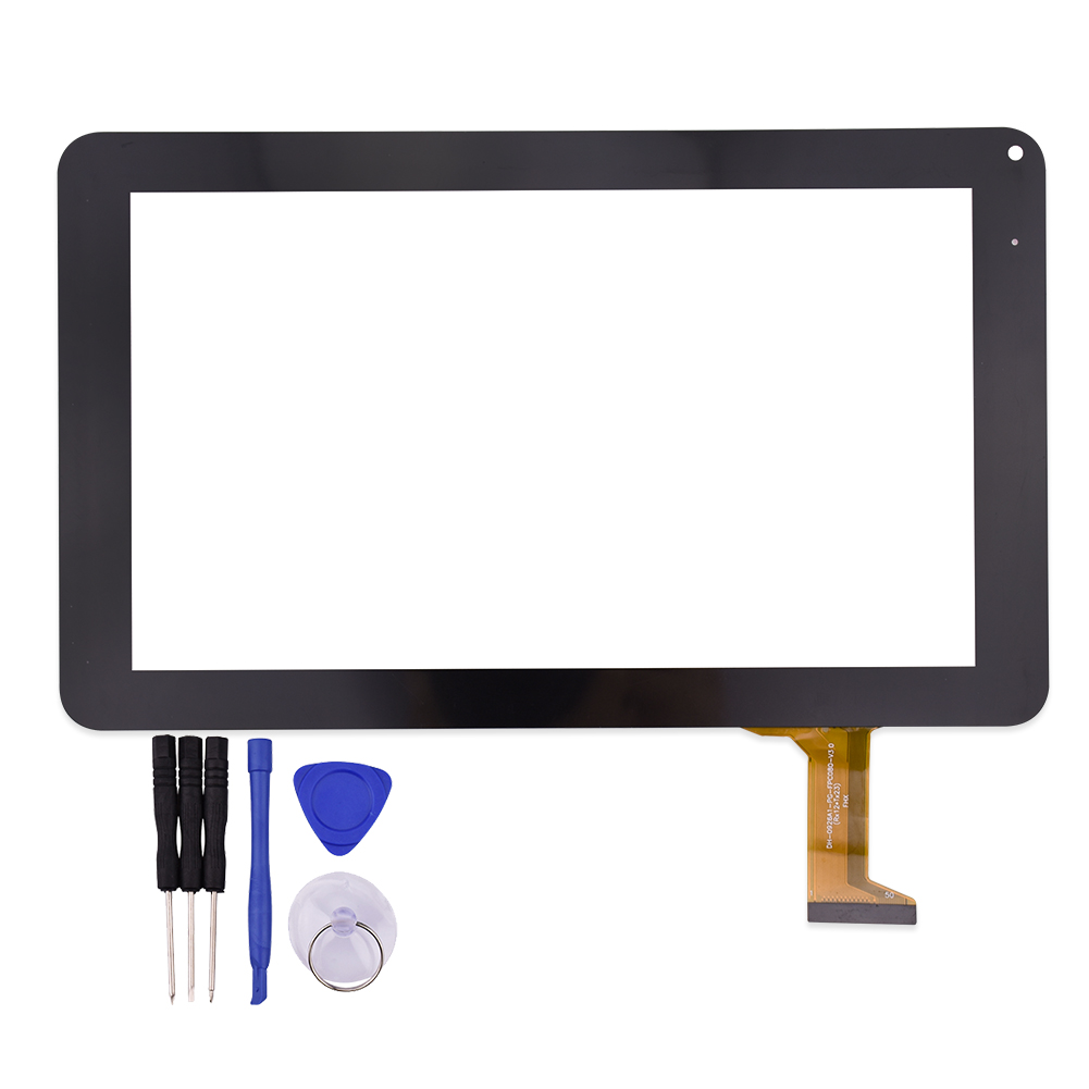 9Inch Touch Screen DH-0926A1-FPC080 for N8000 Glass Panel Sensor Lens Replacement Free Shipping+Tracking No. witblue new touch screen for 9 7 archos 97 carbon tablet touch panel digitizer glass sensor replacement free shipping