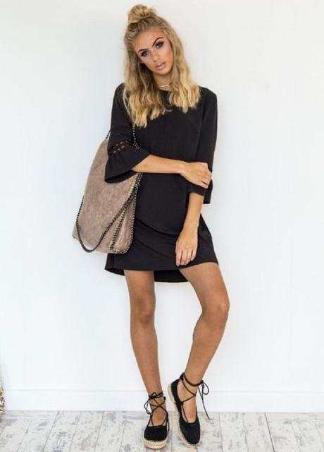Loose Boho Style Summer Dress