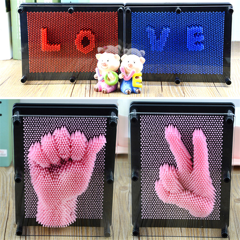 6 color Plastic Face Print 3d Clone funny prank toy Child kids toys for Gift Hand Mould Toy Handprint get face palm model