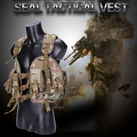 Outdoor Sport Tactical Vest With Water Bottle Men Wae Games Paintball Airsoft Sport Military Hunting Tactical Vest