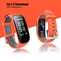 Z17 Heart Rate Monitor Smart Bracelet Fitness Tracker Bracelet With GPS Waterproof Smartband Motion Record Intelligent