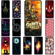 Soft Silicone Case for Honor 7a Black TPU Cases Nova 3i 3 10 Lite Floral Phone