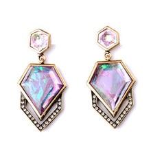 New Design Geometric Hanging Earrings Concise Style Fashion Jewelry Perfume Women Drop Earrings My Orders