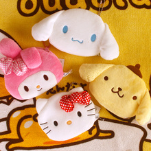 Melody Rabbit Frog Keroppi Pudding Dog Hello Kitty Plush Coin bag Keychain Toys brinquedo menina toys