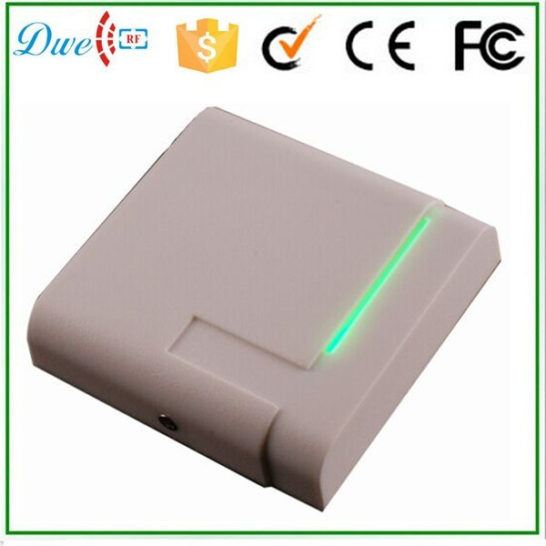 water proof 13.56mhz IC chip card reader white access control door opener free shipping r r s stewart designing a campus for african american females