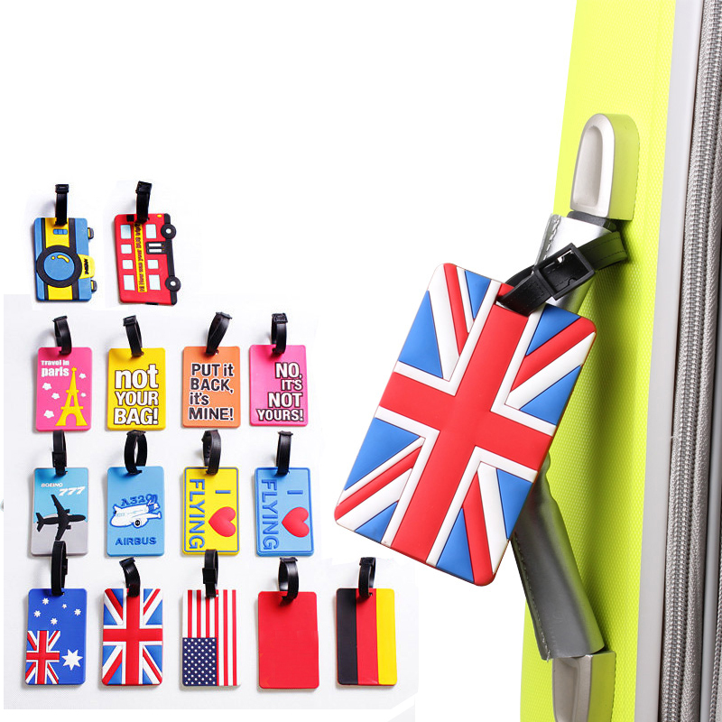 secure travel suitcase id luggage tag put it back it s mine black Joytour Fashion Luggage Bags Accessories Luggage Tag Colorful Pvc Suitcase ID Address Checked Information Holder Travel Label