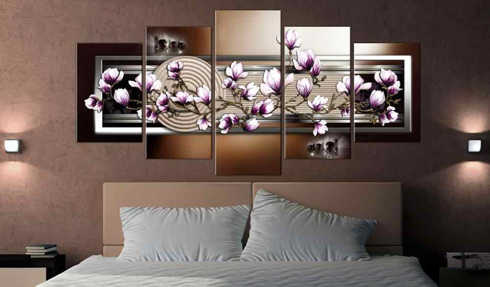 5 pieces/set Classic floral poster Picture Print Painting On Canvas Wall Art Home Decor Living Room Canvas Art PJMT-B (241)