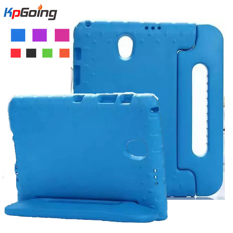 For Samsung Galaxy Tab S 8.4 Shockproof Cover T700 Safe EVA Foam Protective Case Children Kids Stand for Samsung Tab S 8.4 T705 стоимость