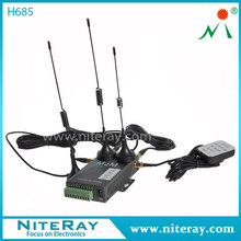 4G FDD LTE Wireless Repeater 4G Router With Secure Wi-Fi (802.11 b/g/n) Network For Weather Station Data Transmission