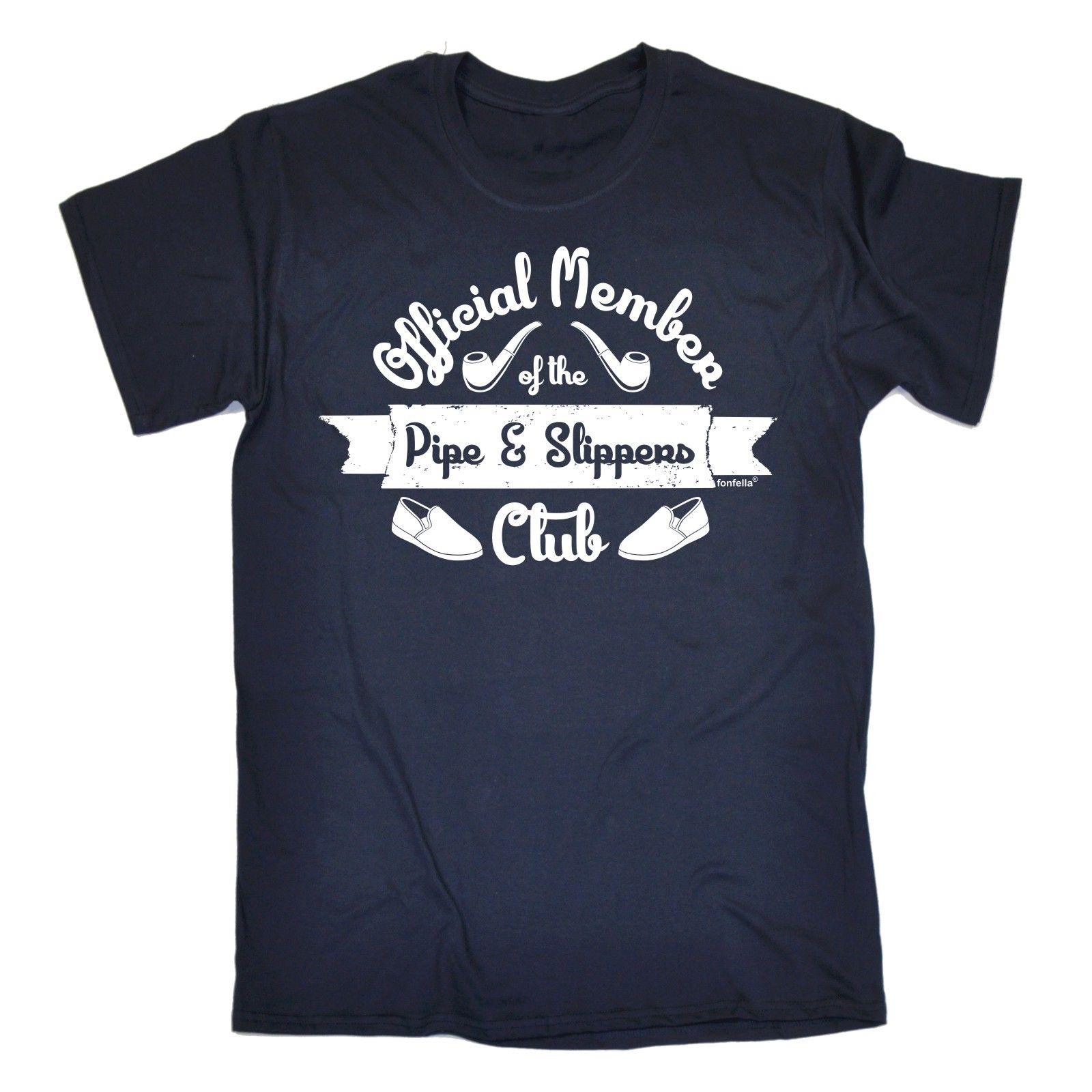 Member Pipe Slippers Club T Shirt Tee Retired Grandad Dad Funny Birthday Gift 100 Cotton Letter Printed Shirts In From Mens Clothing On