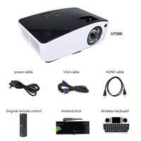 NIERBO Ультра короткие пледы проектор 3D дневной открытый видео 4000 ANSI люмен DLP плёнки проектор школы бизнес 260 Вт лампы HDMI