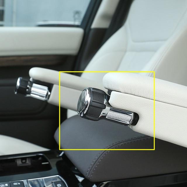 For Range Rover Vogue Sport L405 14-19 Alloy Seat Armrest Box Adjustment Konbs For Landrover Discovery 5 LR5 17-19 Car Refitting 1