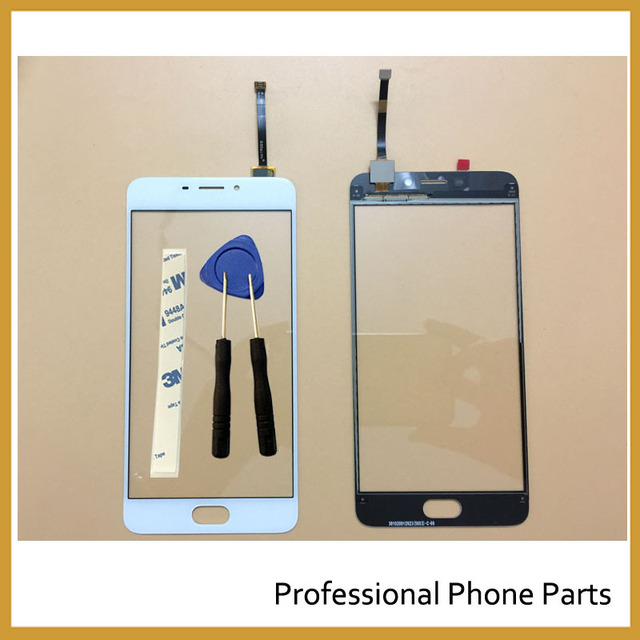 "5.5"" Touch Screen For Meizu M5 Note Mobile Phone Touch Panel Digitizer Sensor Repair Parts +3M Sticker +Tools"