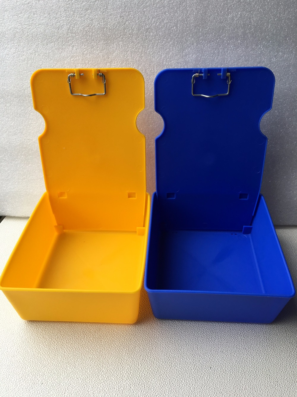 Image 2 - 10pcs Dental Laboratory Working Case Pan Tray lab Equipment Plastic Work Case Pans With Clip Holder-in Teeth Whitening from Beauty & Health